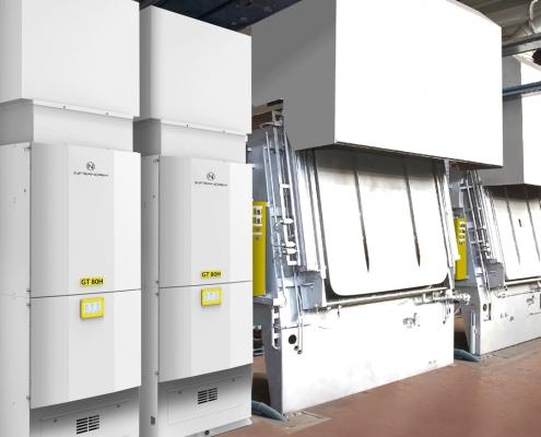 Lufttechnik - Absaugung, Filtrierung und Wärmerückgewinnung bei Anlass- und Mehrzweckkammeröfen inklusive Brandschutz