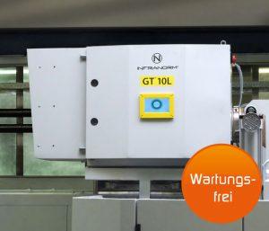 Lufttechnik - Maschinenabsaugung durch wartungsfreie Aerosol-, Ölrauch- und Ölnebelabscheider