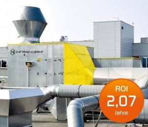 Energietechnik Wärmerückgewinnung - Wärmerückgewinnungs Systeme - Wärmerückgewinnungssysteme