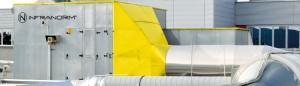 Lüftungsanlage - Industrielle Lüftungsanlage von INFRANORM® WELS