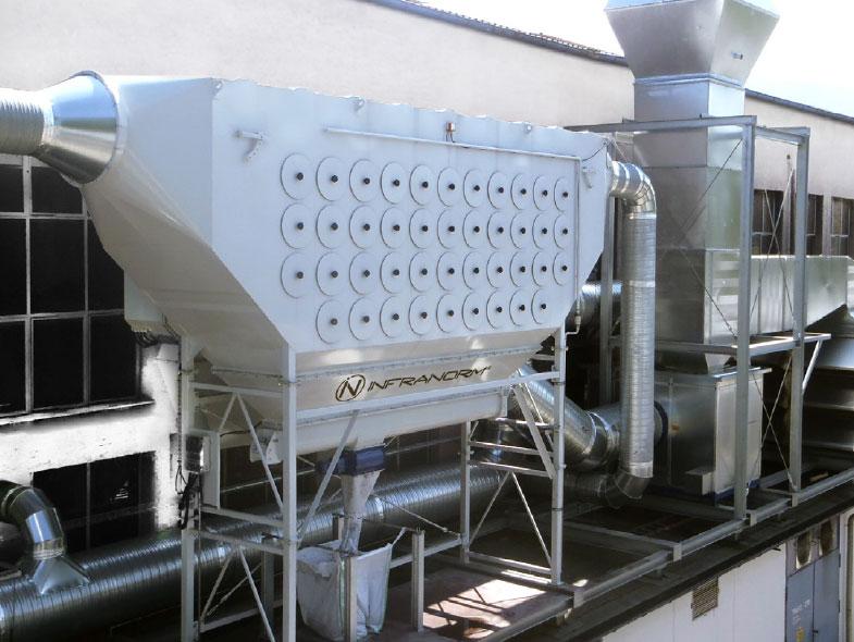 Lufttechnik - Lösungen für Schwerindustrie