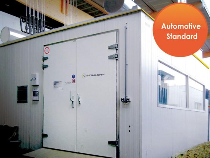 Sonderanlagen - Thermokammer mit Explosionsschutz