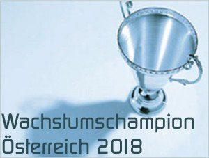 Wachstumschampion 2018 profil Österreich Statista Auszeichnung