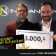 Spendenüberreichung OÖN Christkindl 2018 ,Friedrich M. Müller, Redaktionsleiter OÖN Wels Christian Lindner, CEO INFRANORM Technologie