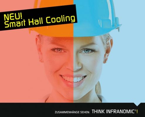 Smart Hall Cooling - bis zu 77% sparen und eine kühle Halle erhalte