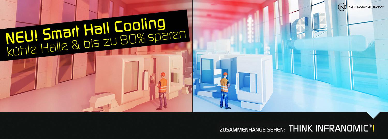 Smart Hall Cooling - erstmals kostengünstig Hallen kühlen