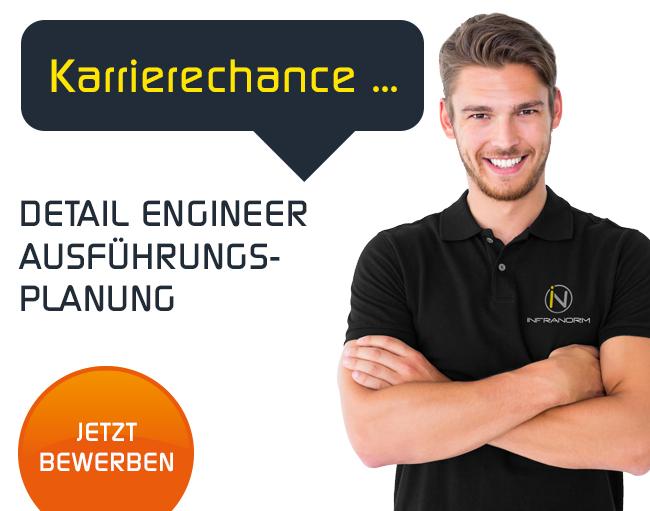Detail Engineer Ausführungsplanung Job Wels INFRANORM CAD Techniker